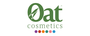300 Oat Cosmetics Logo with Dots